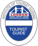 Blue Badge tour guide logo