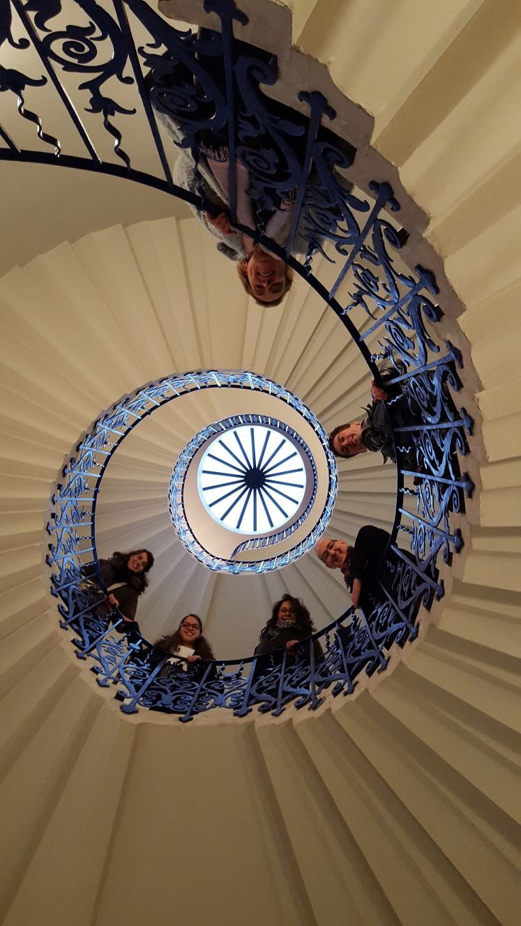 Tulip stairs at Queen's House, Greenwich London
