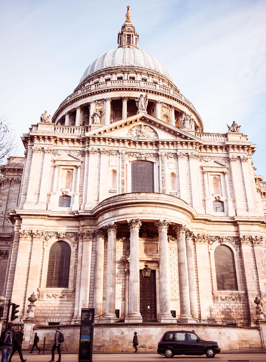 The outside of St Pauls Cathedral