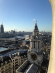 St Pauls Cathedral seen from above